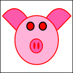 masque de cochon