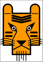 masque de tigre